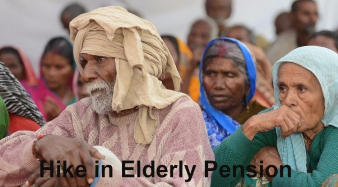 Hike in Elderly Pension under NSAP Proposed