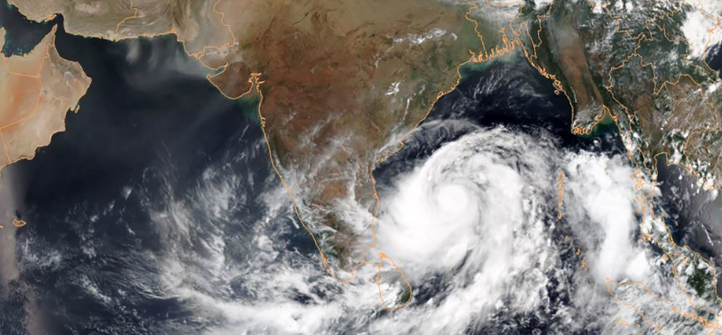 About Cyclone Fani India