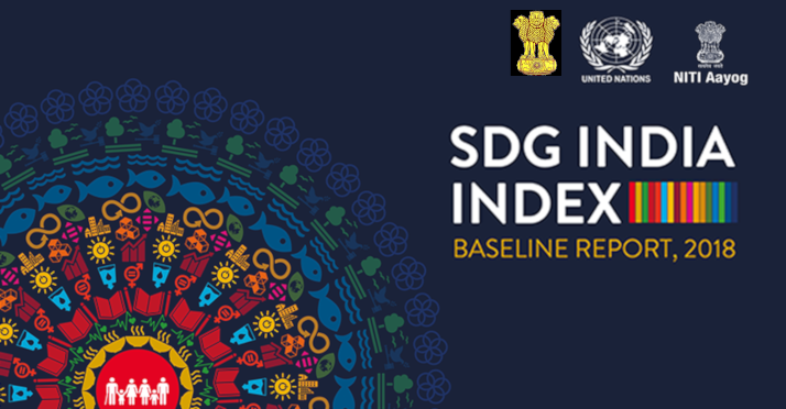 NITI Aayog's SDG (Sustainable Development Goals) India Index