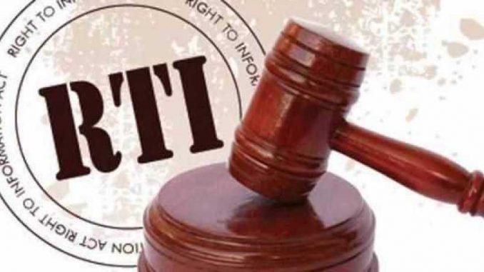 RTI Amendment bill