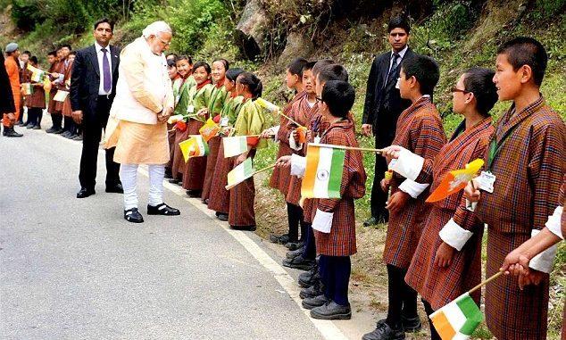 Modi Visit in bhutan