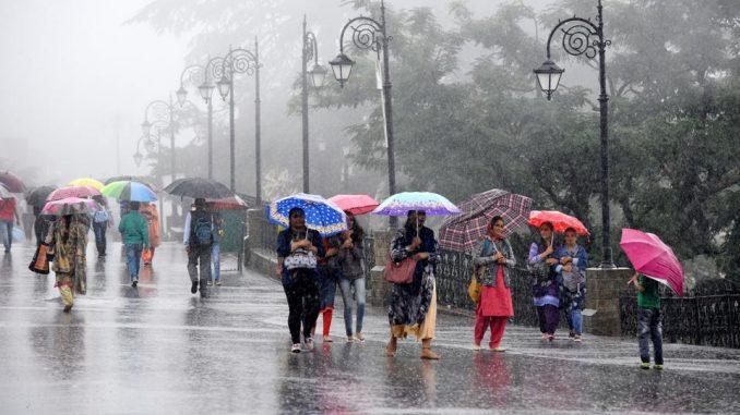 Shift in Monsoon